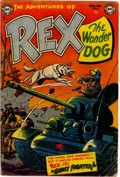 Cover for The Adventures of Rex the Wonder Dog (DC, 1952 series) #6