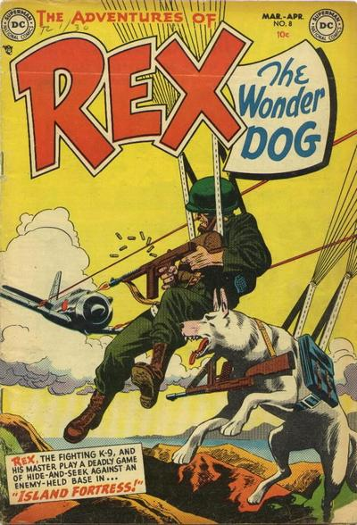 Cover for The Adventures of Rex the Wonder Dog (DC, 1952 series) #8