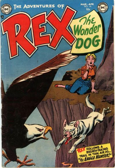 Cover for The Adventures of Rex the Wonder Dog (DC, 1952 series) #14