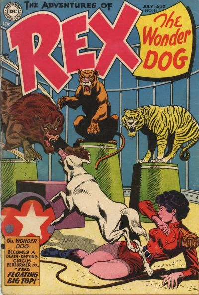 Cover for The Adventures of Rex the Wonder Dog (DC, 1952 series) #16