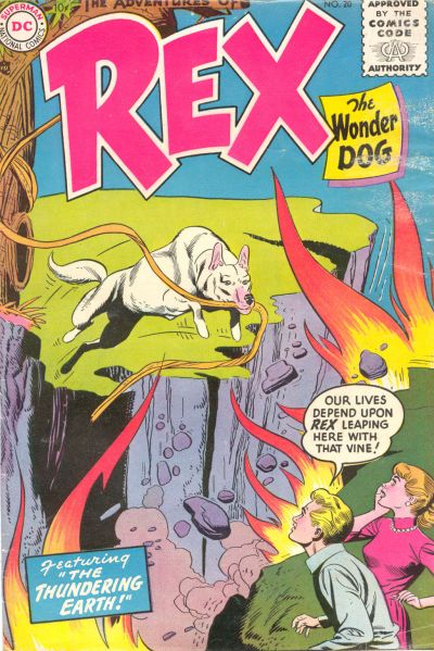 Cover for The Adventures of Rex the Wonder Dog (DC, 1952 series) #20