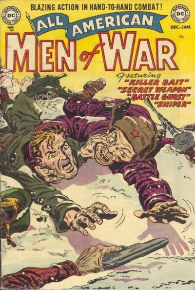 Cover for All-American Men of War (DC, 1953 series) #2