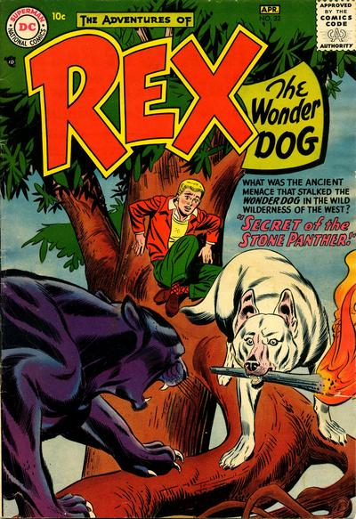 Cover for The Adventures of Rex the Wonder Dog (DC, 1952 series) #32