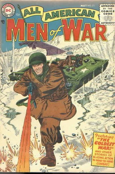 Cover for All-American Men of War (DC, 1953 series) #21
