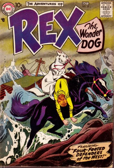 Cover for The Adventures of Rex the Wonder Dog (DC, 1952 series) #35