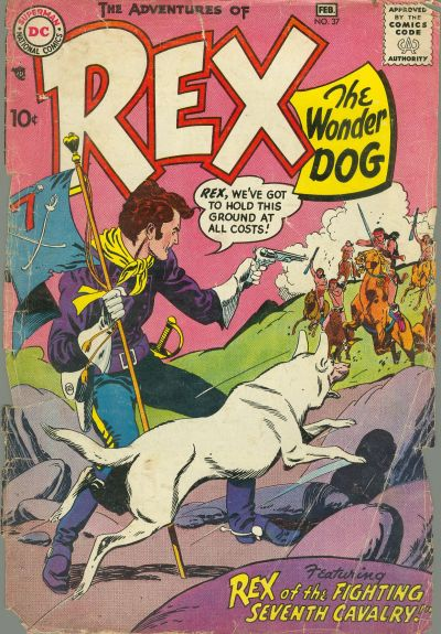 Cover for The Adventures of Rex the Wonder Dog (DC, 1952 series) #37