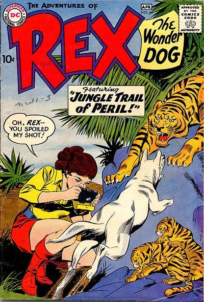 Cover for The Adventures of Rex the Wonder Dog (DC, 1952 series) #44