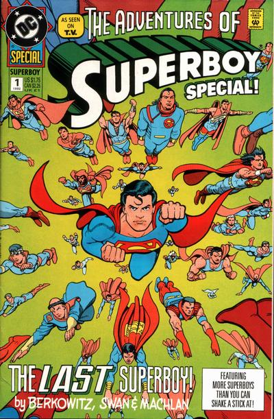 Cover for The Adventures of Superboy Special (DC, 1992 series) #1