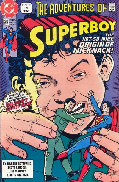 Cover for The Adventures of Superboy (DC, 1991 series) #20 [Direct]