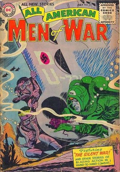 Cover for All-American Men of War (DC, 1953 series) #23