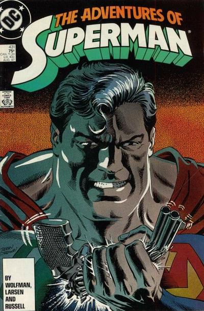 Cover for Adventures of Superman (DC, 1987 series) #431 [Direct Sales]