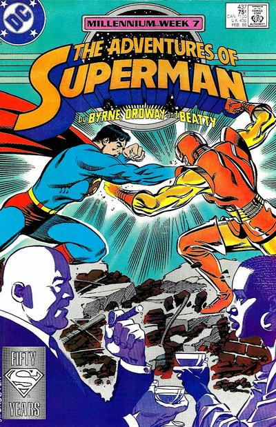 Cover for Adventures of Superman (DC, 1987 series) #437