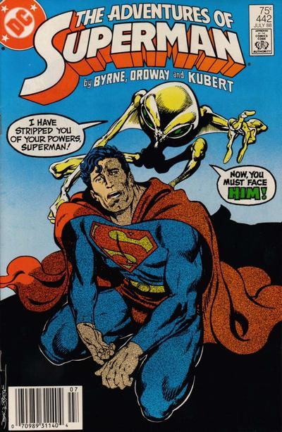 Cover for Adventures of Superman (DC, 1987 series) #442 [Direct Sales]