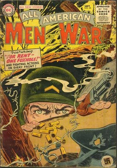 Cover for All-American Men of War (DC, 1953 series) #25