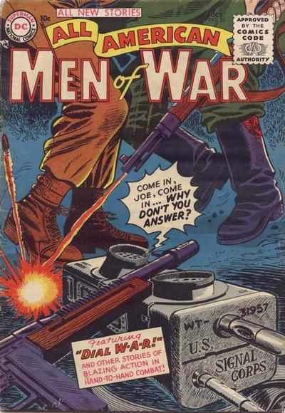 Cover for All-American Men of War (DC, 1952 series) #26