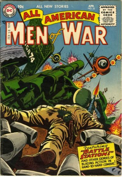 Cover for All-American Men of War (DC, 1953 series) #32