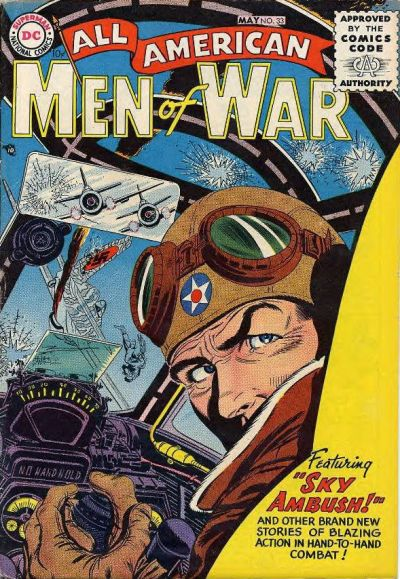 Cover for All-American Men of War (DC, 1953 series) #33