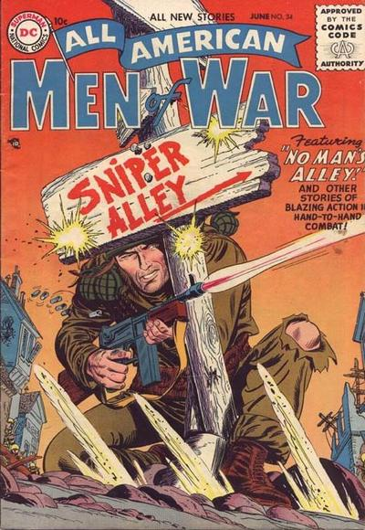 Cover for All-American Men of War (DC, 1953 series) #34