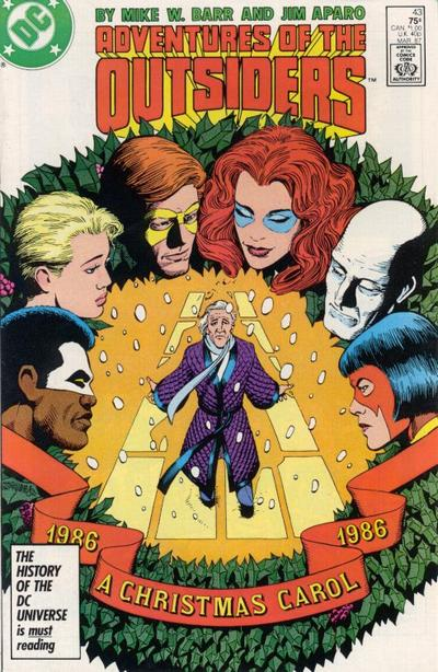 Cover for Adventures of the Outsiders (DC, 1986 series) #43 [Direct Sales]