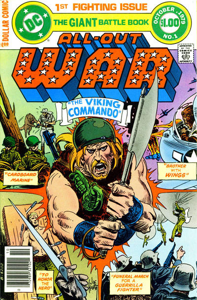 Cover for All Out War (DC, 1979 series) #1