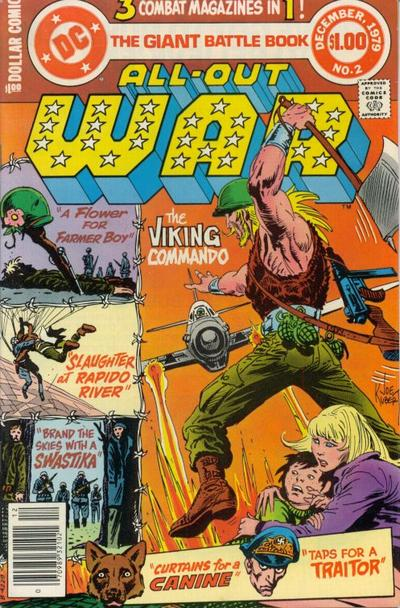 Cover for All-Out War (DC, 1979 series) #2