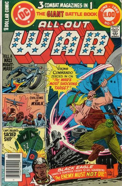 Cover for All-Out War (DC, 1979 series) #5