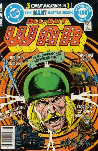 Cover for All-Out War (DC, 1979 series) #6