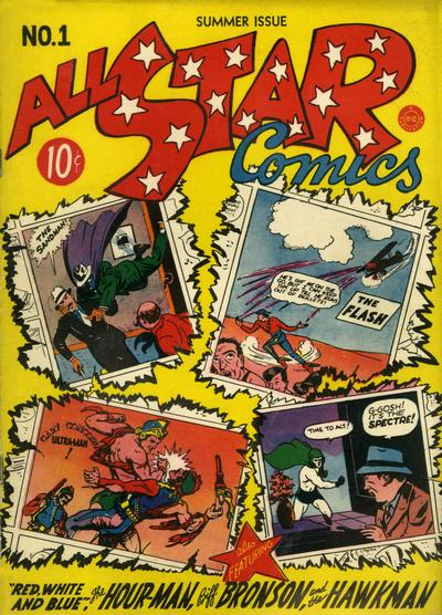 Cover for All-Star Comics (DC, 1940 series) #1