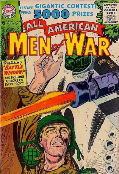 Cover for All-American Men of War (DC, 1953 series) #36