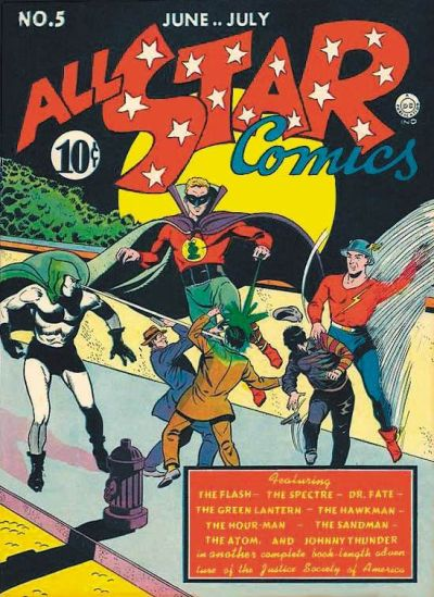 Cover for All-Star Comics (DC, 1940 series) #5
