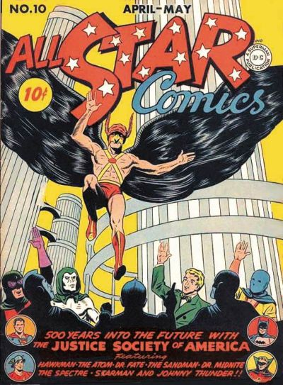 Cover for All-Star Comics (DC, 1940 series) #10