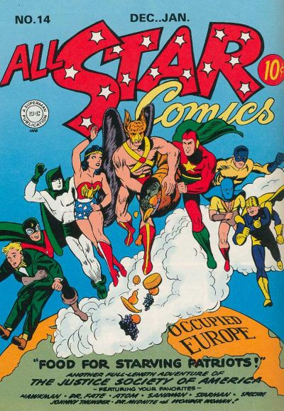 Cover for All-Star Comics (DC, 1940 series) #14