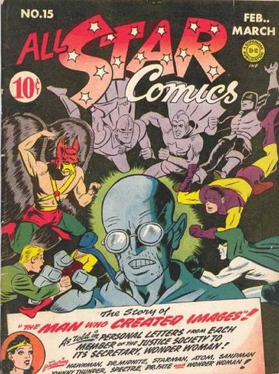 Cover for All-Star Comics (DC, 1940 series) #15