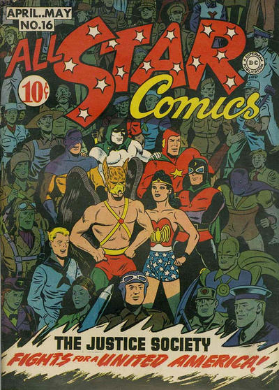 Cover for All-Star Comics (DC, 1940 series) #16
