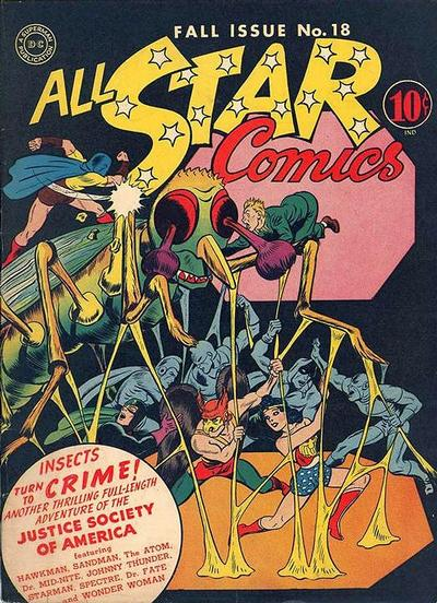 Cover for All-Star Comics (DC, 1940 series) #18