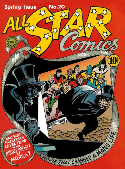 Cover for All-Star Comics (DC, 1940 series) #20