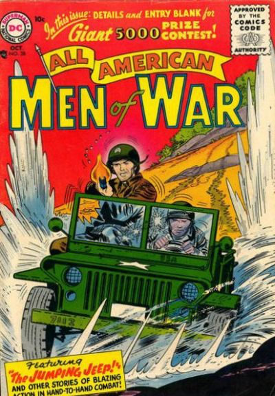 Cover for All-American Men of War (DC, 1953 series) #38
