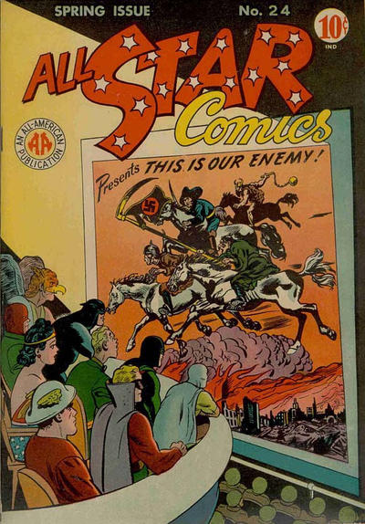 Cover for All-Star Comics (DC, 1940 series) #24