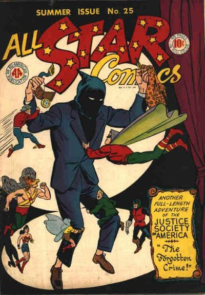 Cover for All-Star Comics (DC, 1940 series) #25
