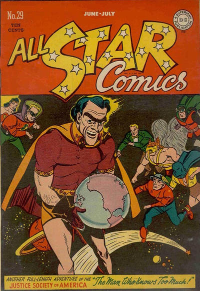 Cover for All-Star Comics (DC, 1940 series) #29