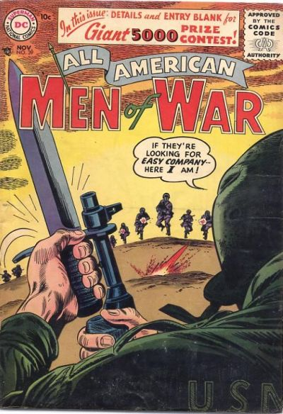 Cover for All-American Men of War (DC, 1953 series) #39