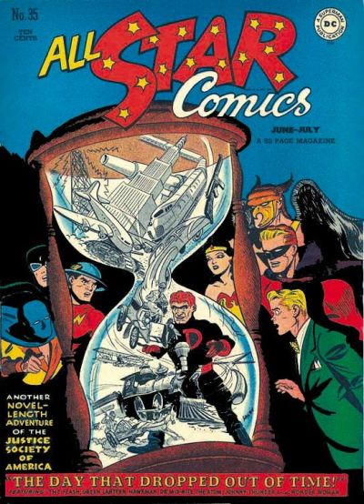 Cover for All-Star Comics (DC, 1940 series) #35