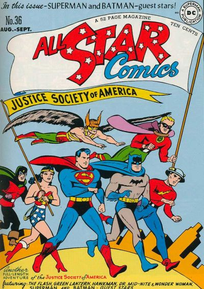 Cover for All-Star Comics (DC, 1940 series) #36