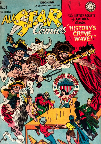 Cover for All-Star Comics (DC, 1940 series) #38