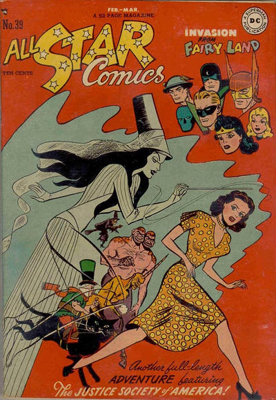Cover for All-Star Comics (DC, 1940 series) #39