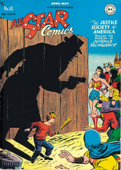 Cover for All-Star Comics (DC, 1940 series) #40