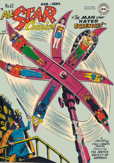 Cover for All-Star Comics (DC, 1940 series) #42