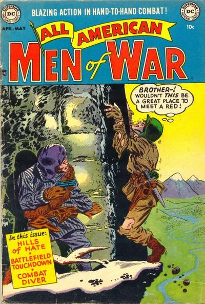 Cover for All-American Men of War (DC, 1953 series) #4