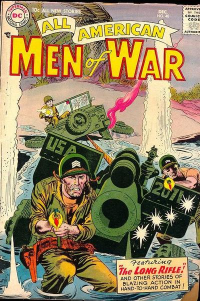 Cover for All-American Men of War (DC, 1953 series) #40