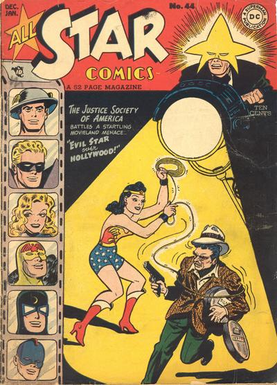 Cover for All-Star Comics (DC, 1940 series) #44